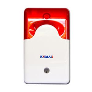 Còi hú kèm đèn chớp 12V Komax KM-A09