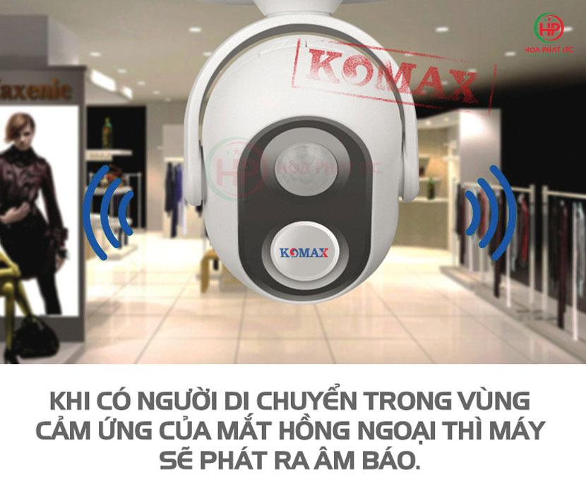 co che hoat dong - Chuông báo khách Komax KM-002B