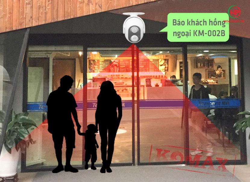 ung dung chuong bao khach komax km 002b - Chuông báo khách Komax KM-002B