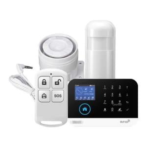 Báo động chống trộm qua điện thoại dùng Sim và Wifi GOMAN GM-SA352W