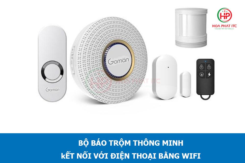 bao trom dung wifi goman gm sa351 - Hệ thống chống trộm là gì giá bao nhiêu? Hệ thống chống trộm tốt nhất hiện nay?