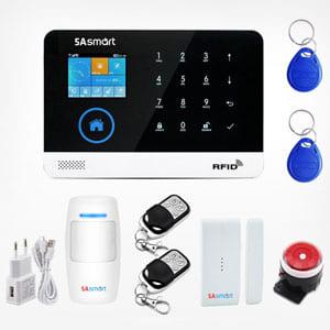 Bộ chống trộm trung tâm dùng sim và wifi 5A Smart 5A-F10