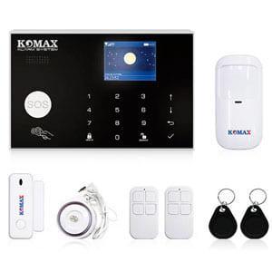 Bộ chống trộm trung tâm dùng sim và wifi Komax KM-G30