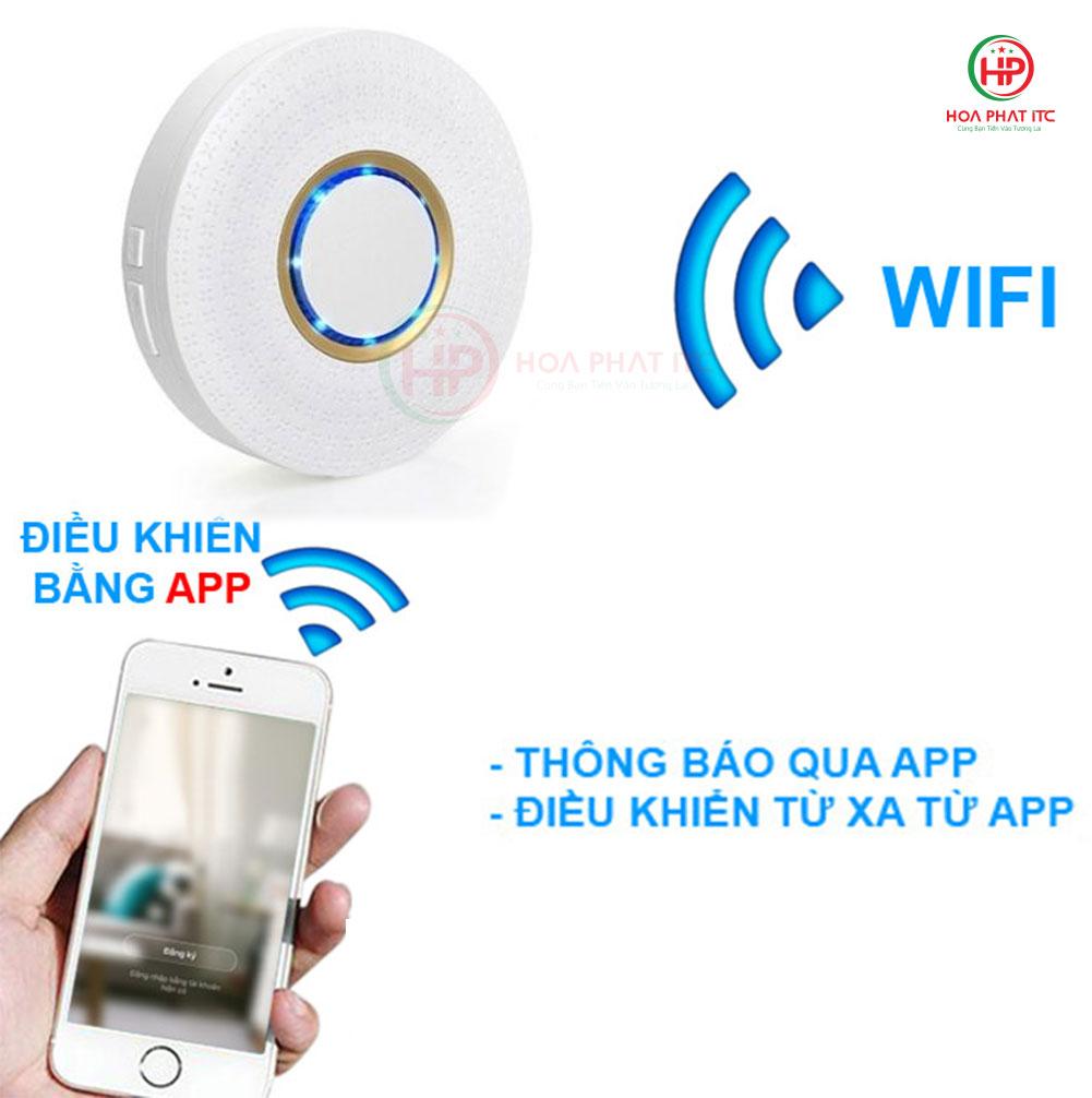 goman gm sa351 thong bao qua dien thoai - Bộ báo động chống trộm qua điện thoại wifi GOMAN GM-SA351