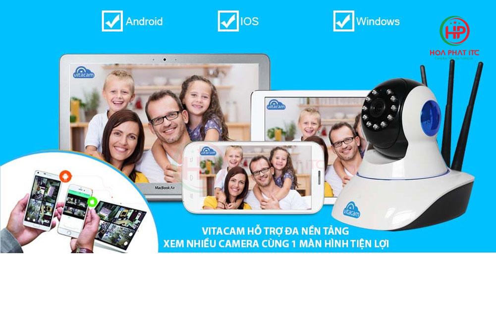 he dieu hanh ho tro xem camera c780 - Camera Vitacam C780 3MPX siêu nét