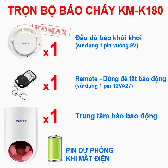 huong dan su dung thiet bi bao trom trung tam komax km t80 - Hướng dẫn sử dụng thiết bị chống trộm trung tâm Komax KM-T80